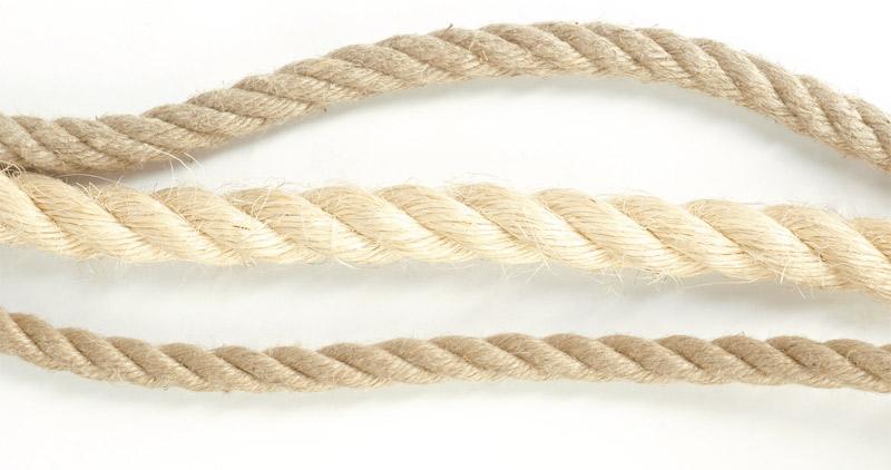 prírodné konopné laná Image